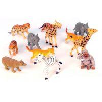 Mikro 50143 - Zvířátka safari - mláďata (6,5-9cm) - 12ks