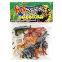 Teddies Zvieratká safari ZOO 8 ks 2
