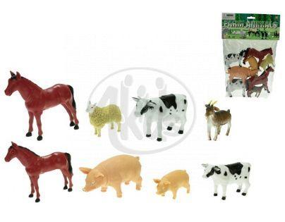 Mikro  - Zvířátka farma 8-13cm 8ks v sáčku