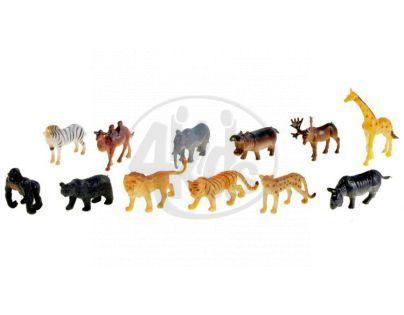 Zvířátka safari malá 12 ks