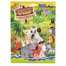 Zvířátka safari 2 druhy 2