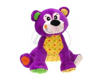 Zvířátka plyšová 20cm sedící - Medvěd