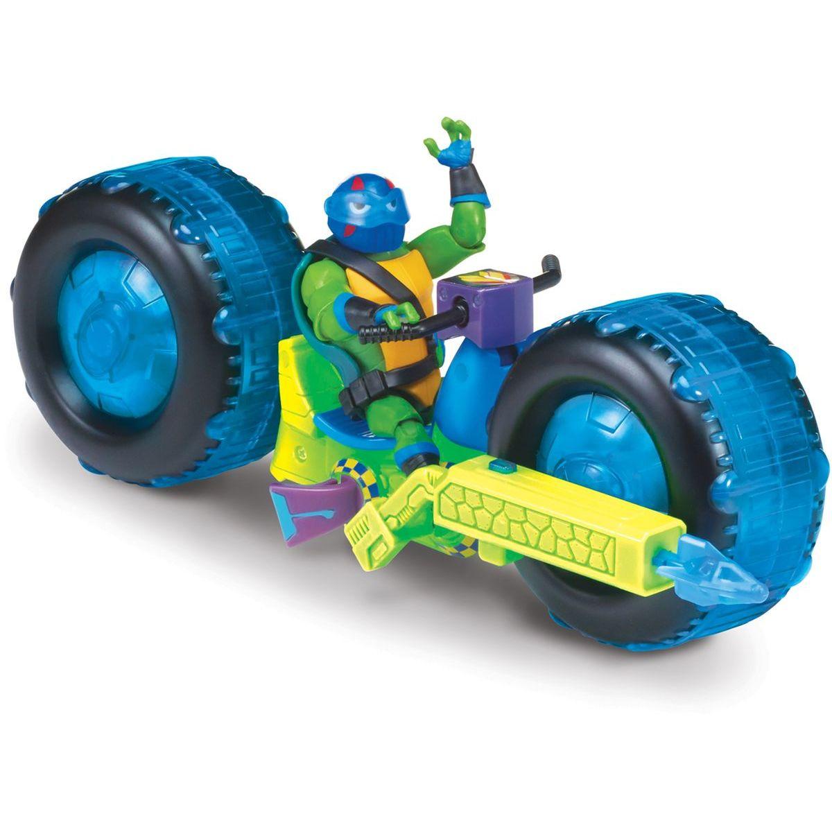 EP Line Teenage Mutant Ninja Turtles motorka s figurkou Leonardo