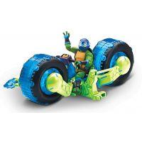 EP Line Teenage Mutant Ninja Turtles motorka s figurkou Leonardo 2