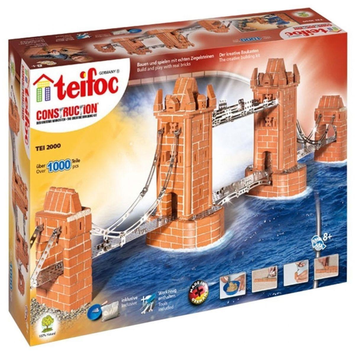 Teifoc Tower bridge 1000 dílků