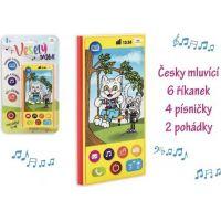 Telefón mobilné česky hovoriaci na batérie