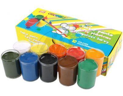 Easy office Temperové barvy v kelímku 10 barev 20 ml