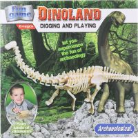 Tesání Brontosaurus kostra