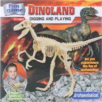 Tesání Velociraptor kostra