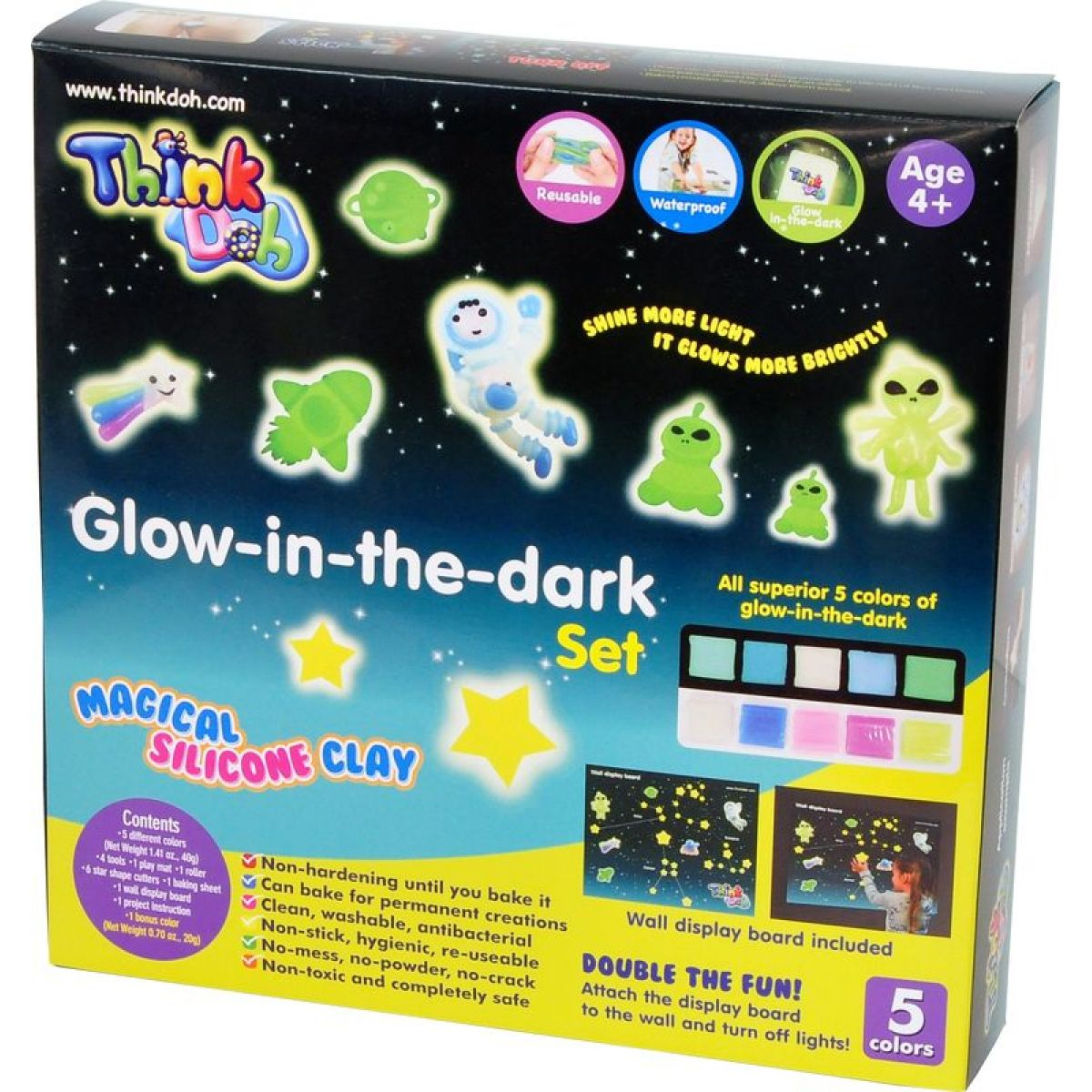 Think Doh Glow in the dark
