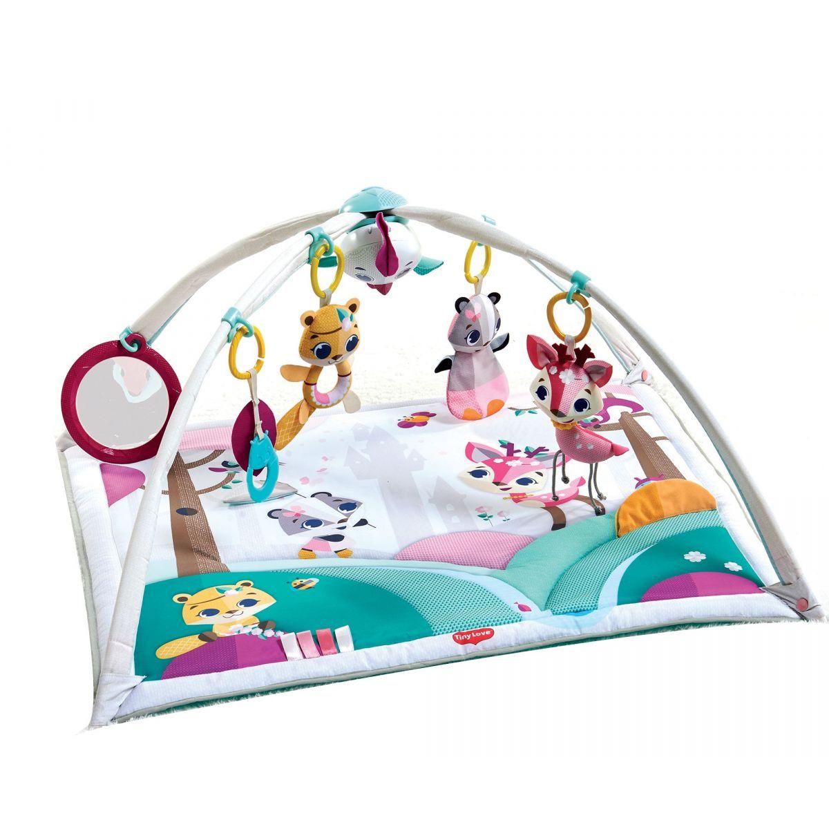 Tiny Love Hrací deka s hrazdou Gymini Princess Tales