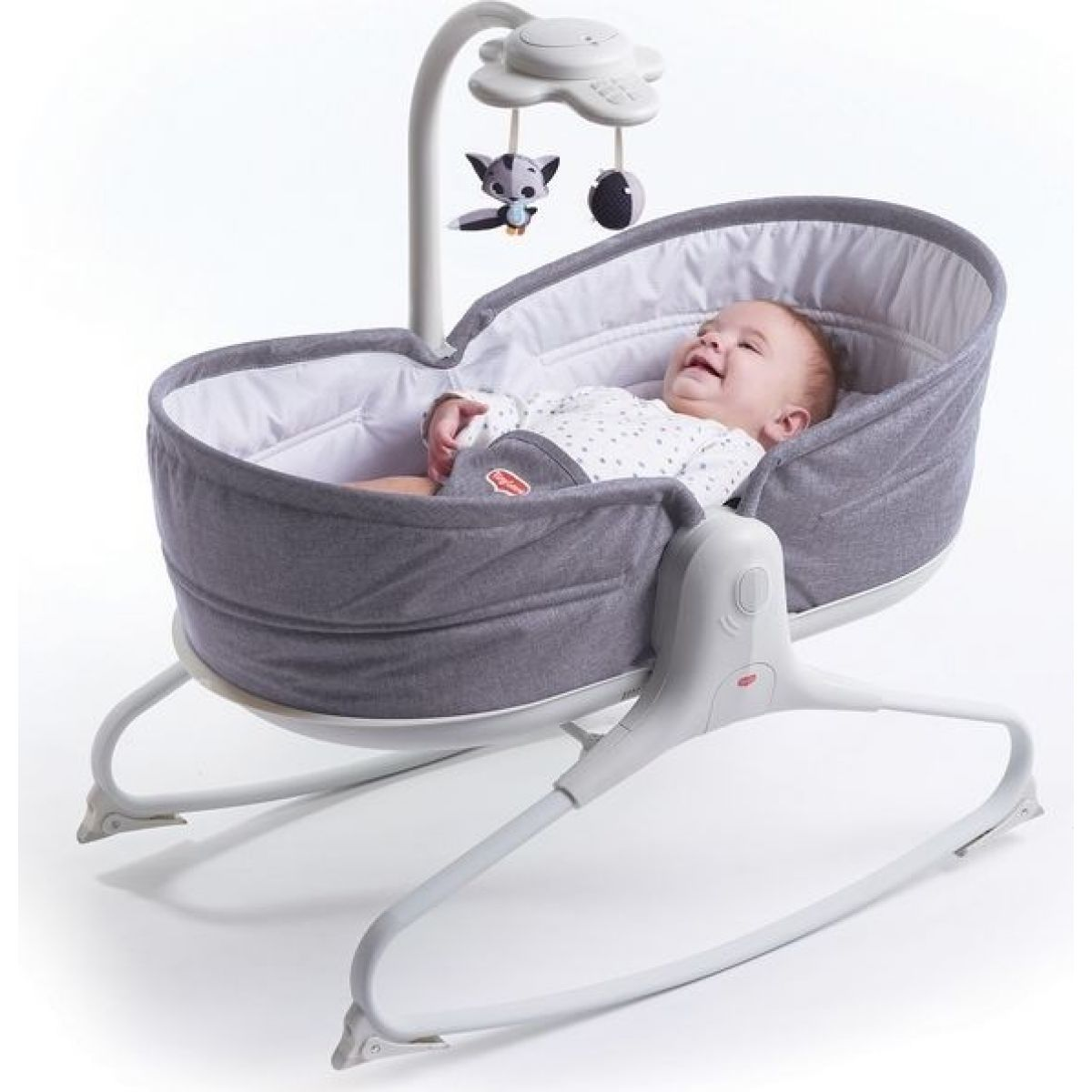 Tiny Love Lehátko 3v1 Rocker Napper Heather Grey