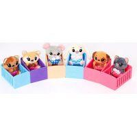 TM Toys Tiny Tukkins Baby Crib plyšový mazlíček s postýlkou