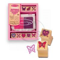 Melissa & Doug 62851 - Tiskátka - motýl a srdce
