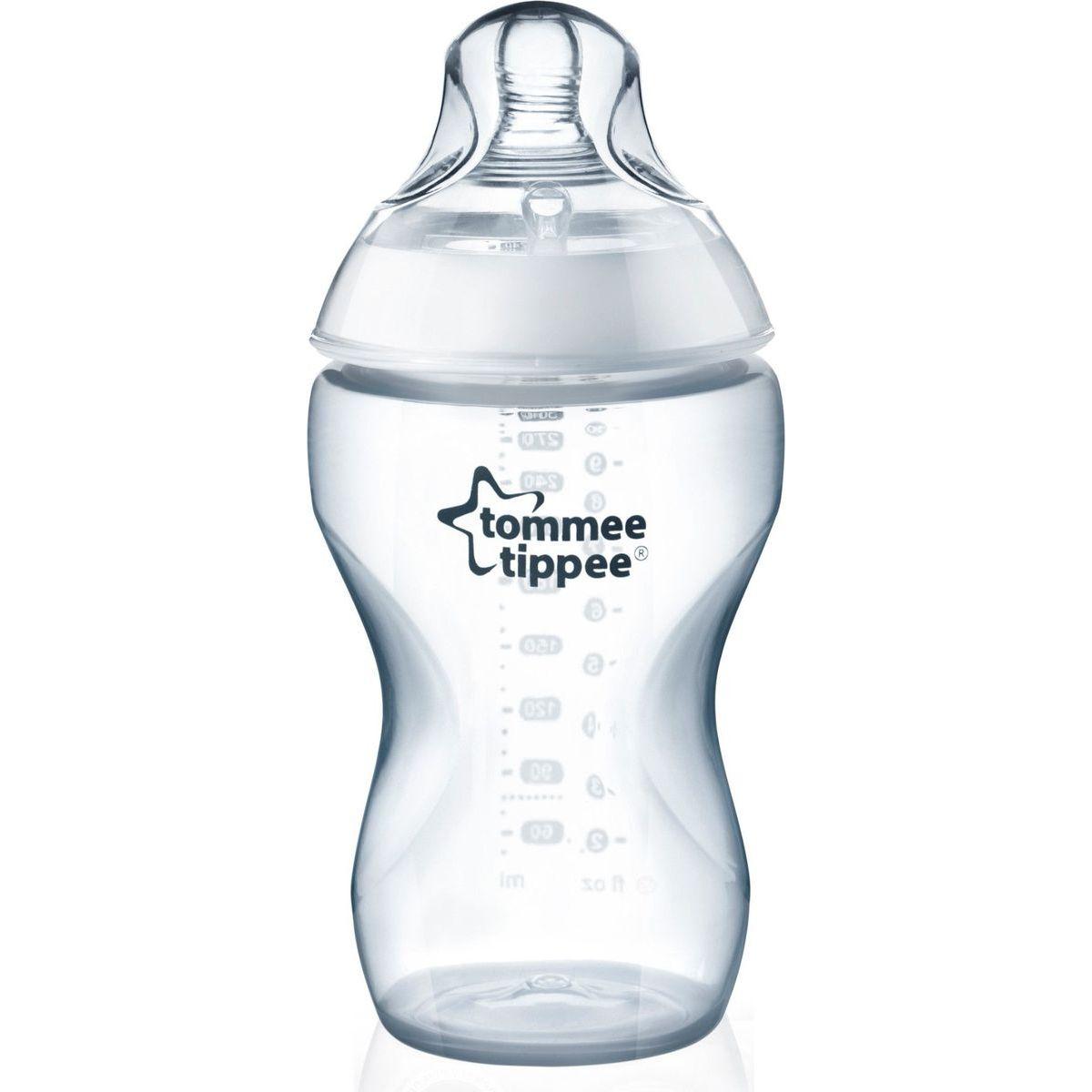 Tommee Tippee kojenecká láhev C2N skleněná bílá 250ml
