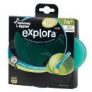 Tommee Tippee Explora Misky pro snadné nabírání 4ks - Zeleno-tyrkysová 2
