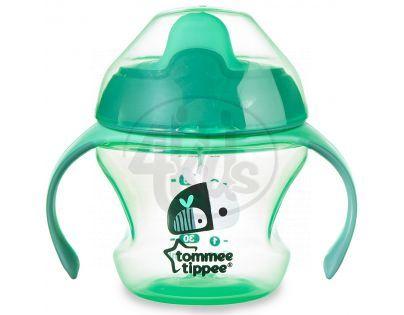 Tommee Tippee Explora Netekoucí hrnek First Cup 150 ml - Zelená