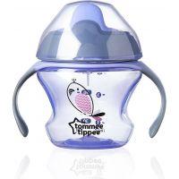 Tommee Tippee Explora Netekoucí hrnek First Cup 150ml 4m+ fialová