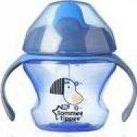 Tommee Tippee Explora Netekoucí hrnek First Cup 150ml 4m+ modrá