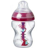 Tommee Tippee Kojenecká láhev C2N Anti-Colic Girl 260 ml 0m+ růžová