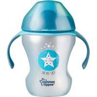 Tommee Tippee Netekoucí hrnek Explora Easy Drink 230 ml Modrá