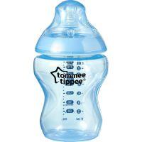 Tommee Tippee Sada kojeneckých lahviček C2N s kartáčem modrá 2