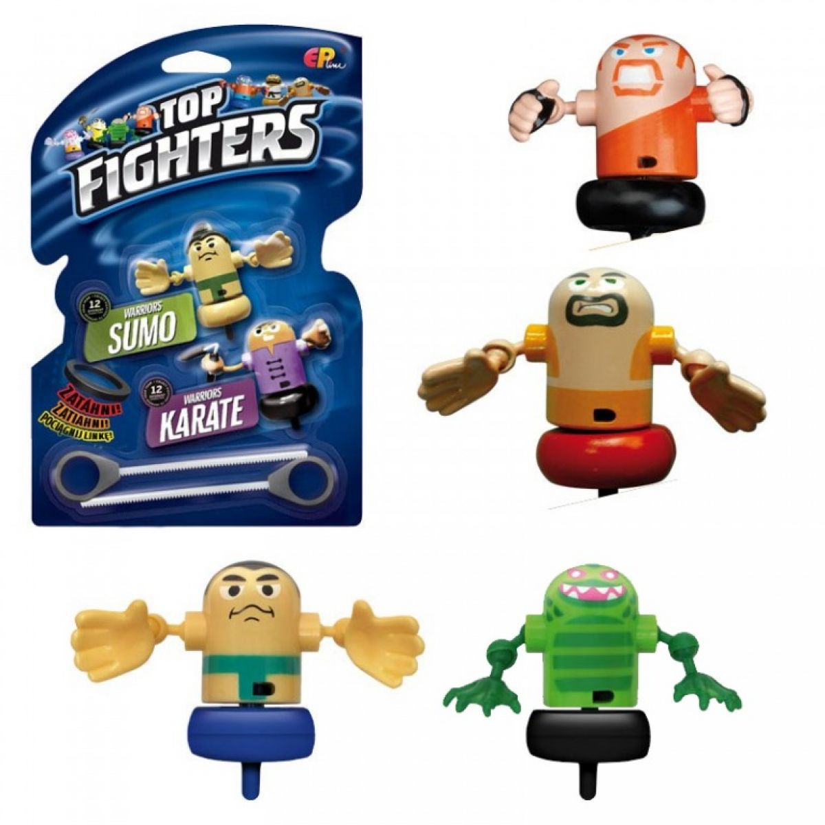 EP Line Top Fighters Blistr 2 figurky
