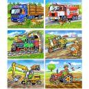 Topa 30213 - Kostky dřevěné Mašinka 12ks 3