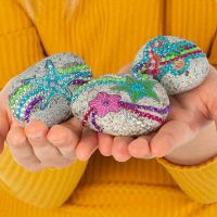Totum Rock Starfish zdobení kamenů 5