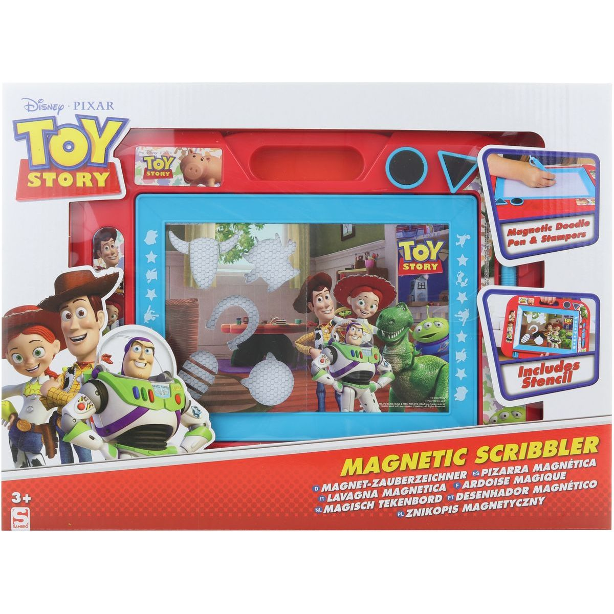 Toy Story magnetická tabulka