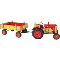 Kovap Traktor a valník - Červená