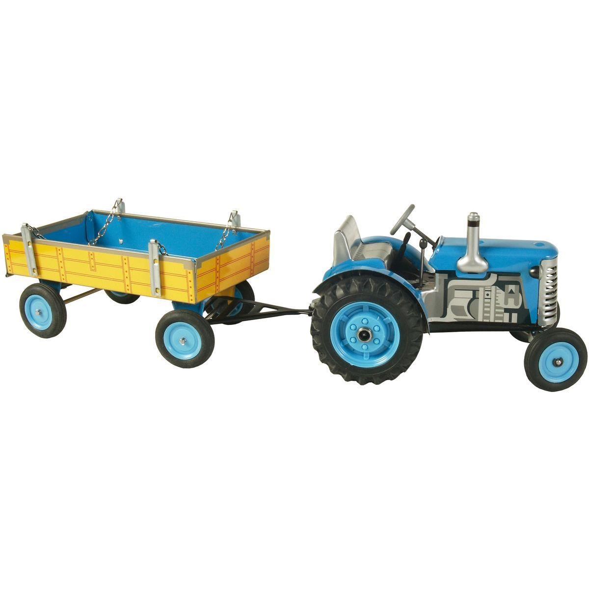 Kovap Traktor a valník - Modrá