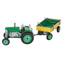 Traktor a valník Kovap - Zelená - Poškozený obal