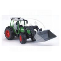 BRUDER 02101 - Traktor Fendt Farmer 209S se lžící
