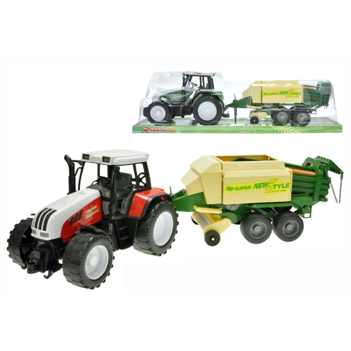 Traktor na setrvačník s balíkovačem na slámu 63cm