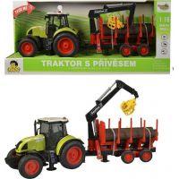 Made Traktor s vlečkou na setrvačník 38 cm