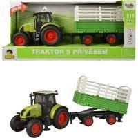 Made Traktor s vlečkou na setrvačník 40 cm