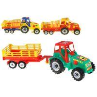 Micro Traktor s vlekem Farmer 46 cm