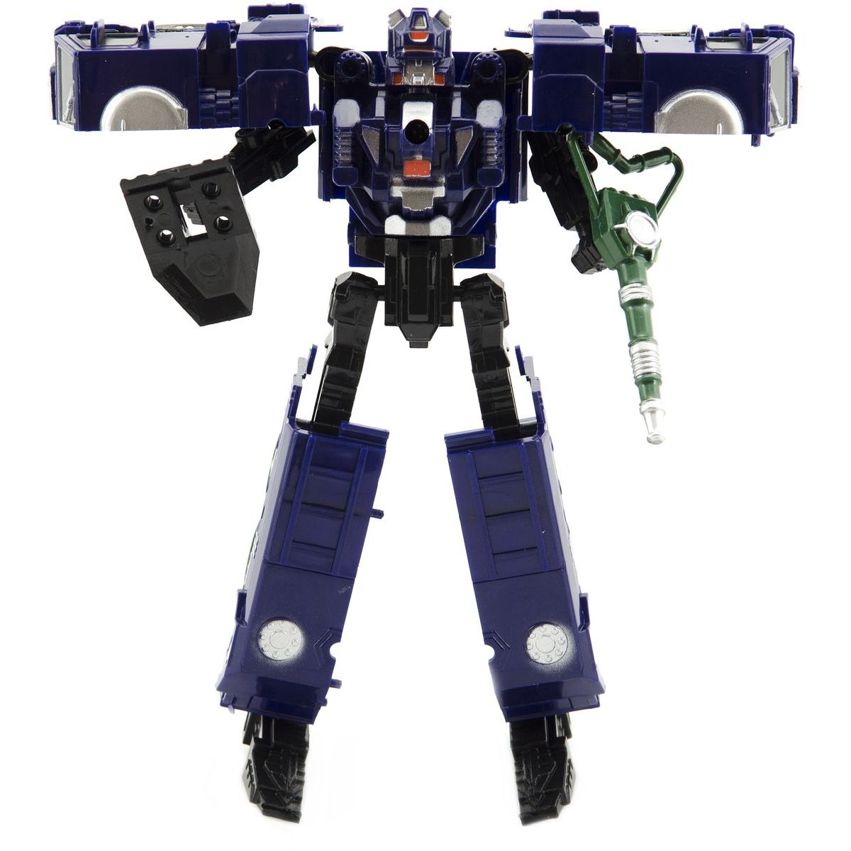 Transformer policie 17 cm modrý