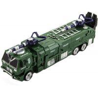 Transformer policie 17 cm zelený