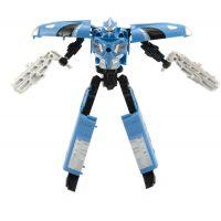 Transformer vlak plast 17 cm modrý