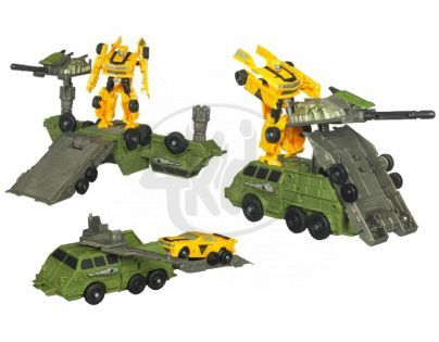 Transformers Cyberverse hrací set Hasbro 28706 - Optimus Prime Armored Weapons