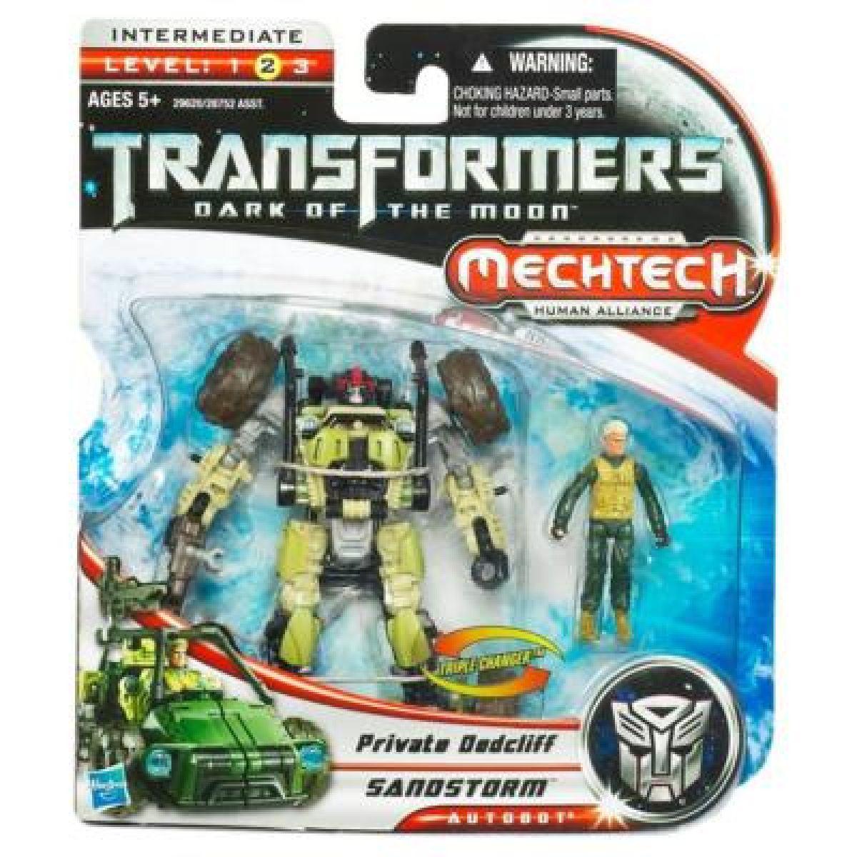 Transformers human alliance základní figurka Hasbro 28752 - Private Dedcliff a Sandstorm