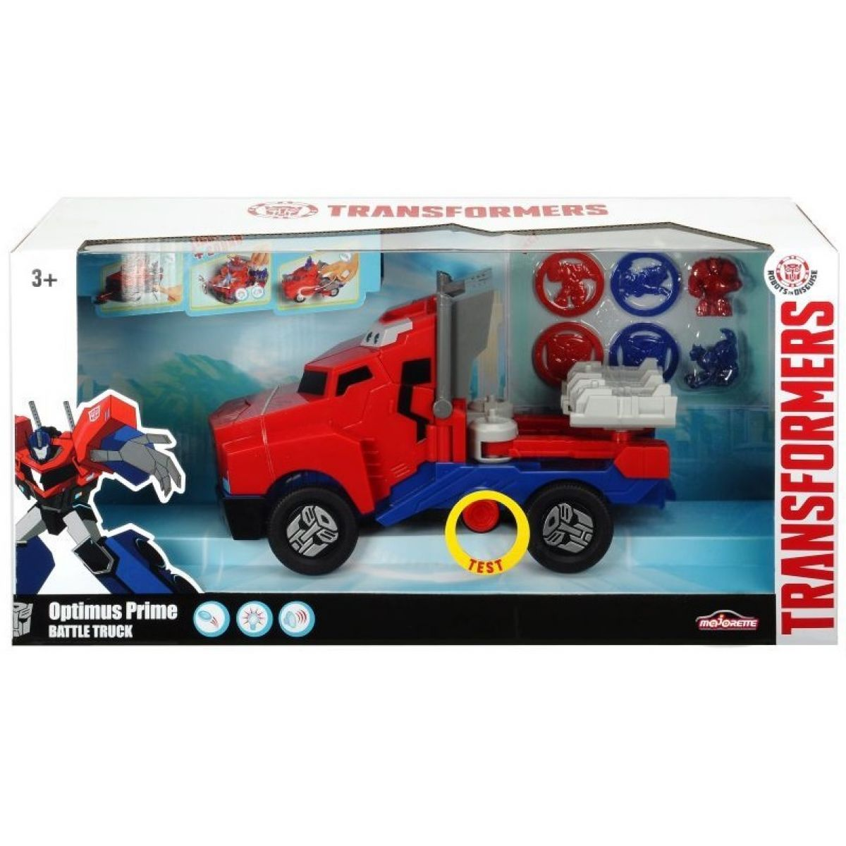 Dickie Transformers RID Optimus Prime Battle Truck