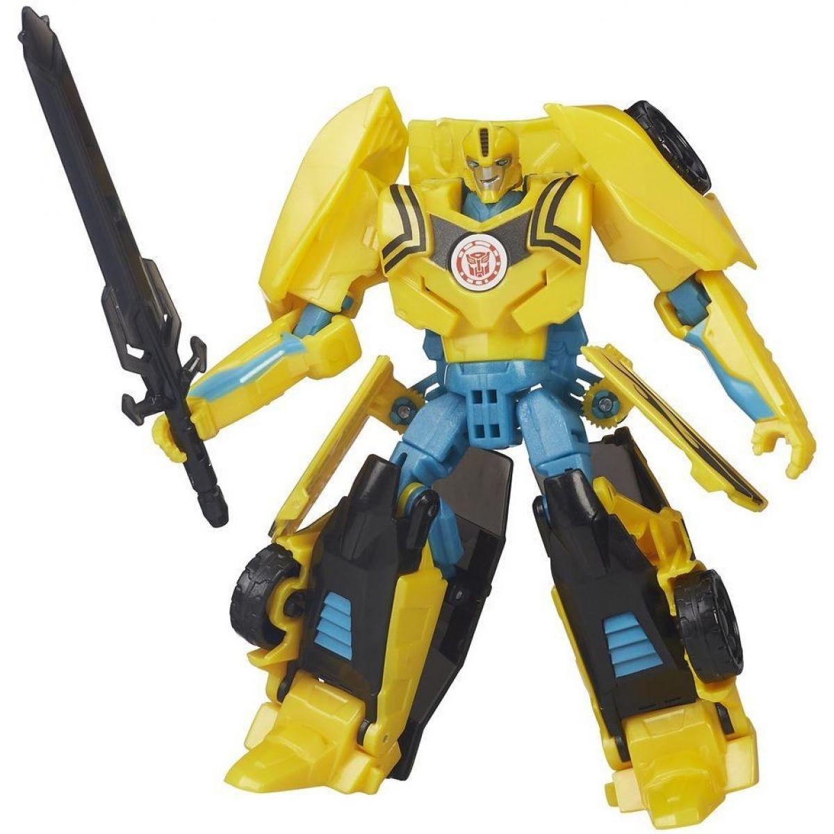Hasbro Transformers s pohyblivými prvky - Night Strike Bumblebee