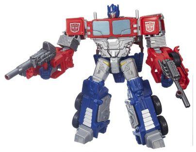 Transformers Transformer s doplňky a náhradním vybavením - Optimus Prime