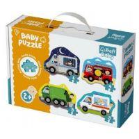 Trefl Baby puzzle dopravní prostředky
