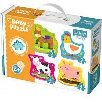 Trefl Baby puzzle zvířátka