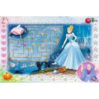 Trefl Disney Princezny Puzzle a magický fix