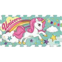 Trefl Foam Unicorn Pěnové puzzle 8 ks